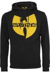 Pánska mikina Wu-Wear Wu-Wear Logo Hoody black