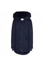 Pánska modrá bunda na zimu Sixth June Lining Fur Parka #4
