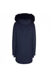 Pánska modrá bunda na zimu Sixth June Lining Fur Parka #5