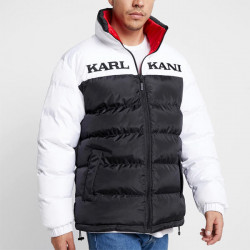 Pánska obojstranná zimná bunda Karl Kani Retro Reversible Puffer Jacket Red