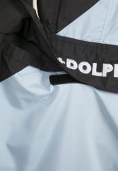 Pánska prechodná bunda Pink Dolphin Wave Crew Anaorak Farba: wht/lightblue/blk, #14