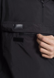 Pánska bunda URBAN CLASSICS Basic Pull Over Jacket black #2