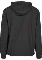 Pánska bunda URBAN CLASSICS Basic Pull Over Jacket black #4
