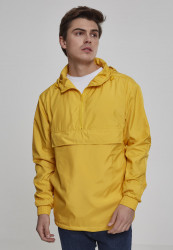 Pánska bunda URBAN CLASSICS Basic Pull Over Jacket chrome yellow