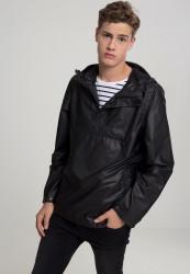 Pánska prechodná bunda URBAN CLASSICS Light Pull Over Jacket black