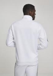 Pánska prechodná bunda Urban Classics Sleeve Taped Track Jacket wht/multicolor #2