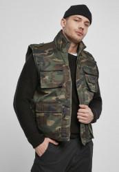 Pánska vesta BRANDIT Ranger Vest Farba: woodland, Grösse: XXL