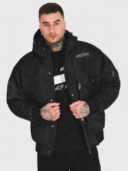 Pánska zimná bunda Amstaff Conex Winterjacke 2.0 - schwarz