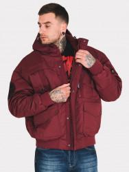 Pánska zimná bunda Amstaff Conex Winterjacket 2.0 Bordeaux