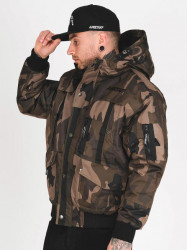 Pánska zimná bunda Amstaff Conex Winterjacket maskáčová #1