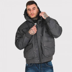 Pánska zimná bunda Amstaff Conex Winterjacket tmavošedá