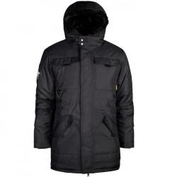 Pánska zimná bunda Amstaff Taranis Parka čierna Size: 3XL