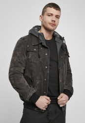 Pánska zimná bunda BRANDIT Dayton Winter Jacket Farba: black, Grösse: XXL