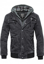 Pánska zimná bunda BRANDIT Dayton Winter Jacket Farba: black, #7