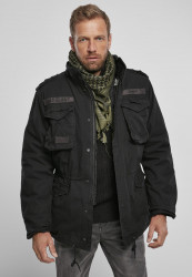 Pánska zimná bunda BRANDIT M-65 Giant Jacket Farba: light woodland, Grösse: XXL