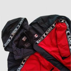 Pánska zimná bunda Karl Kani Retro Tape Block Sport Jacket