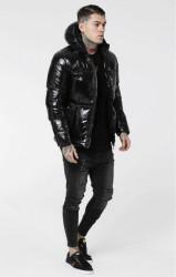 Pánska zimná bunda Sik Silk čierna
