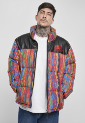 Pánska zimná bunda Southpole Multicolored Pattern Jacket Farba: multicolored,