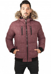 Pánska zimná bunda Urban Classics Melange Expedition Bubble Jacket
