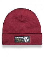 Pánska zimná čiapka  Amstaff Loyalty Beanie bordová
