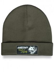 Pánska zimná čiapka Amstaff Loyalty Beanie zelená