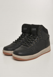 Pánska zimná obuv URBAN CLASSICS High Top Winter Sneaker black