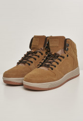 Pánska zimná obuv URBAN CLASSICS High Top Winter Sneaker honey