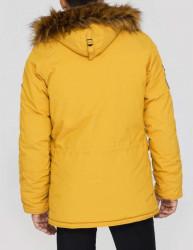 Pánska žltá zimná bunda Alpha Industries Explorer #1
