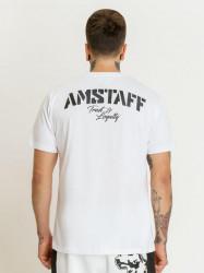 Pánske biele tričko Amstaff Logo 2.0 T-Shirt Size: 3XL #1
