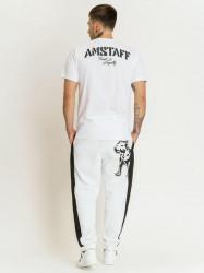 Pánske biele tričko Amstaff Logo 2.0 T-Shirt Size: 3XL #3
