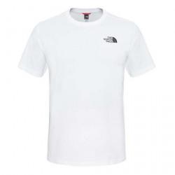 Pánske biele tričko s krátkym rukávom The North Face