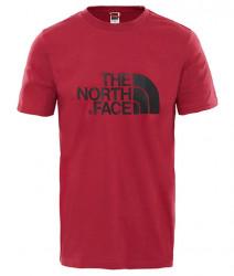 Pánske bordové tričko s krátkym rukávom The North Face