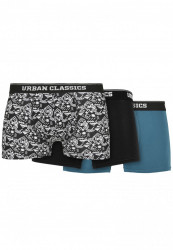 Pánske boxerky Urban Classics Organic Boxer Shorts 3-Pack detail