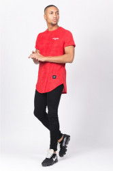 Pánske červené tričko Sixth June Towel Logo #2