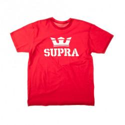 Pánske červené tričko Supra Above Regular