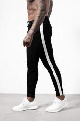 Pánske čierne rifle ALIVE DENIM Track Jeans
