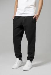 Pánske čierne tepláky URBAN CLASSICS Basic Sweatpants black Farba: Čierna,