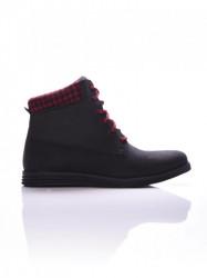 Pánske čierne topánky na zimu Dorko ARIEL BLACK Farba: Čierna,