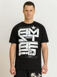 Pánske čierne tričko Amstaff Derky T-Shirt Size: 3XL