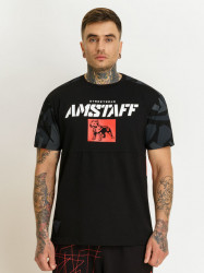 Pánske čierne tričko Amstaff Istar T-Shirt Size: 3XL