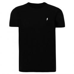 Pánske čierne tričko s krátkym rukávom Alive Micro Bolt Tight Tee #3