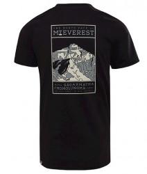 Pánske čierne tričko s krátkym rukávom The North Face #1