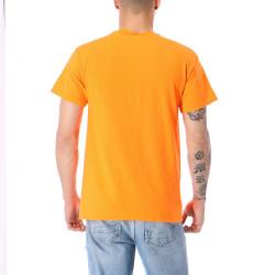 Pánske čierne tričko Thrasher TIKI TEE SAFETY ORANGE #2