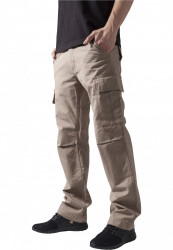 Pánske kapsáčové nohavice URBAN CLASSICS Camouflage Cargo Pants béžové