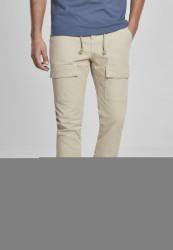 Pánske kapsáčové nohavice Urban Classics Front Pocket Cargo Jogging Pants concrete