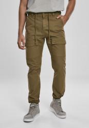 Pánske kapsáčové nohavice Urban Classics Front Pocket Cargo Jogging Pants summerolive
