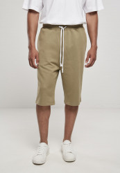 Pánske kraťase Urban Classics Low Crotch Sweatshorts khaki