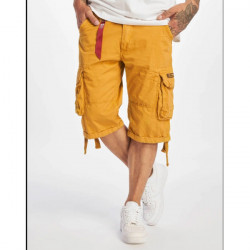 Pánske kraťasy Alpha Industries Jet Shorts Yellow Size: 30