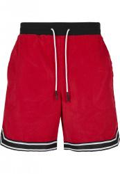 Pánske kraťasy Cayler Sons CSBL Reverse Banned Cord Farba: red/black/white,