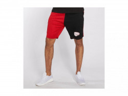 Pánske kraťasy Dangerous DNGRS / Short LosMuertos in red -